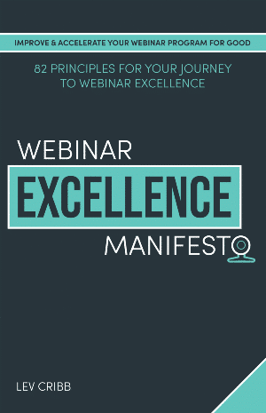 Webinar Excellence Manifesto Book